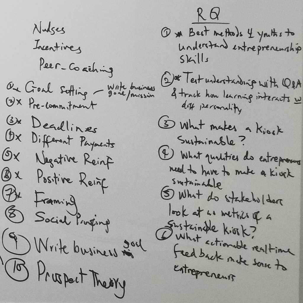 Brainstorming Screenshot