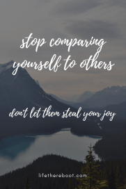 don't let them steal your joy