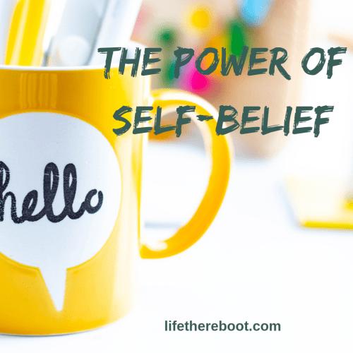 Power of self-belief