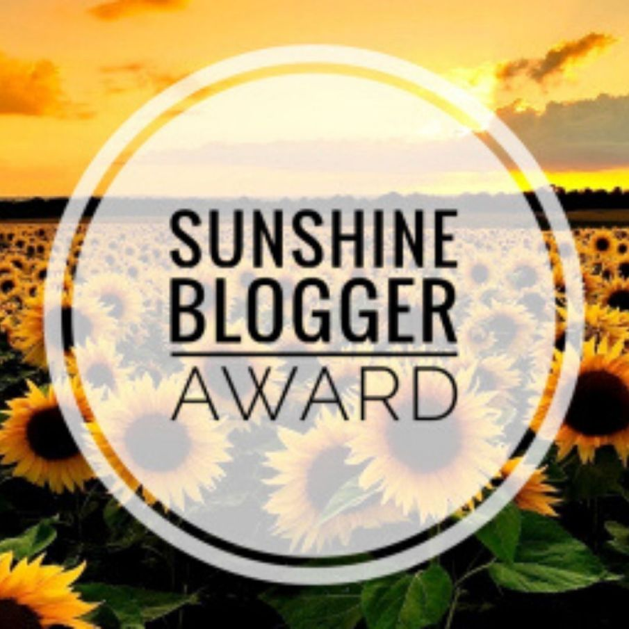 sunshine blooger award
