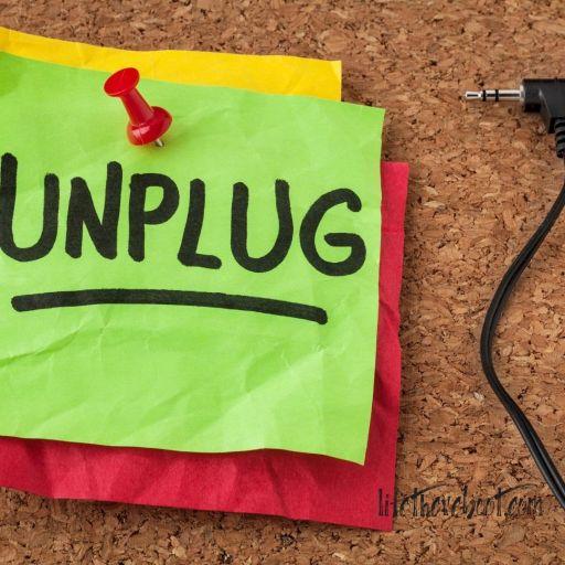 spiritual unplug