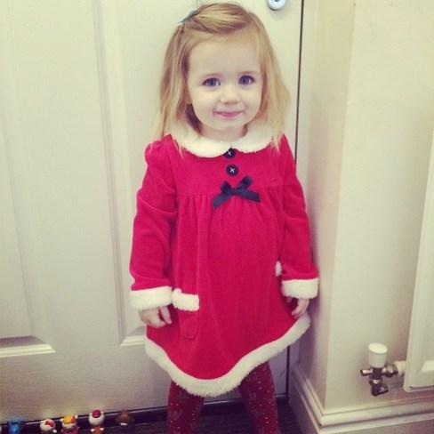 P as Mrs Christmas