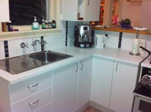 new kitchen still with window.