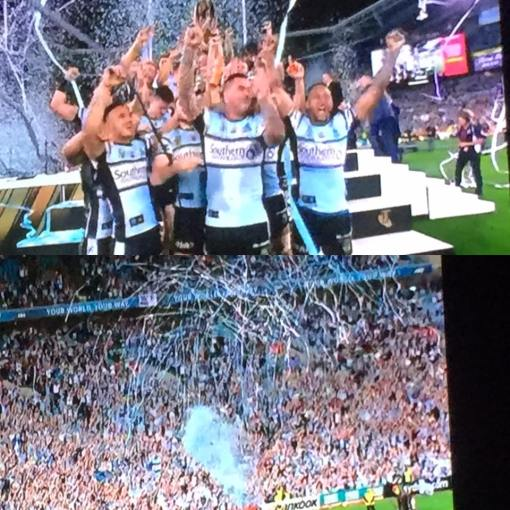 Sharks winning their first ever Grand Final 2016