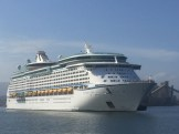 Voyager of the Seas leaving Wollongong. Can't wait to be on her soon.