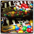 M&Ms from the US are GF they use corn starch for the shells instead of wheat starch