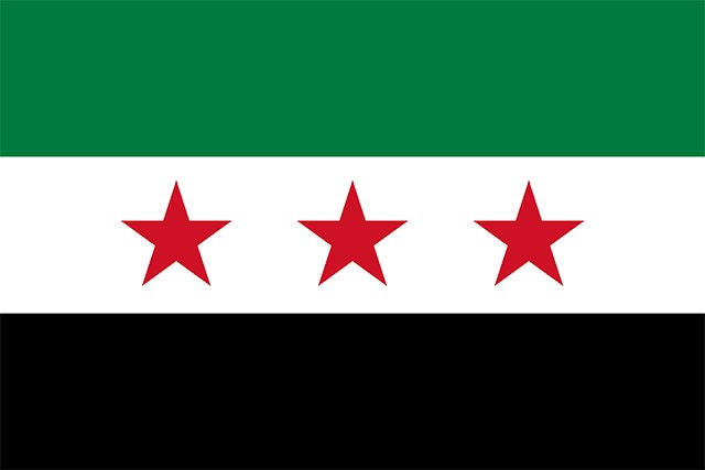 flag of syria 2011 observed