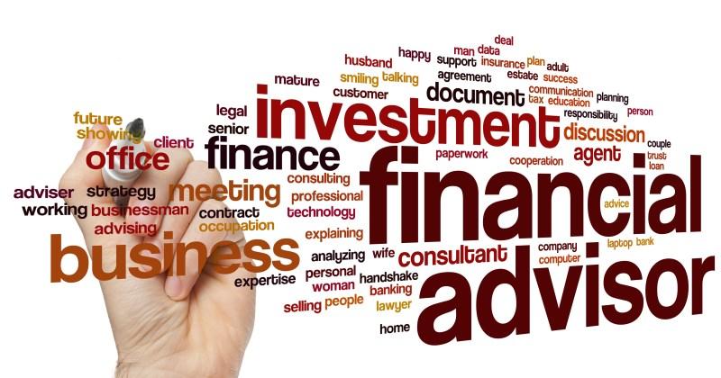Financial Adviser word cloud