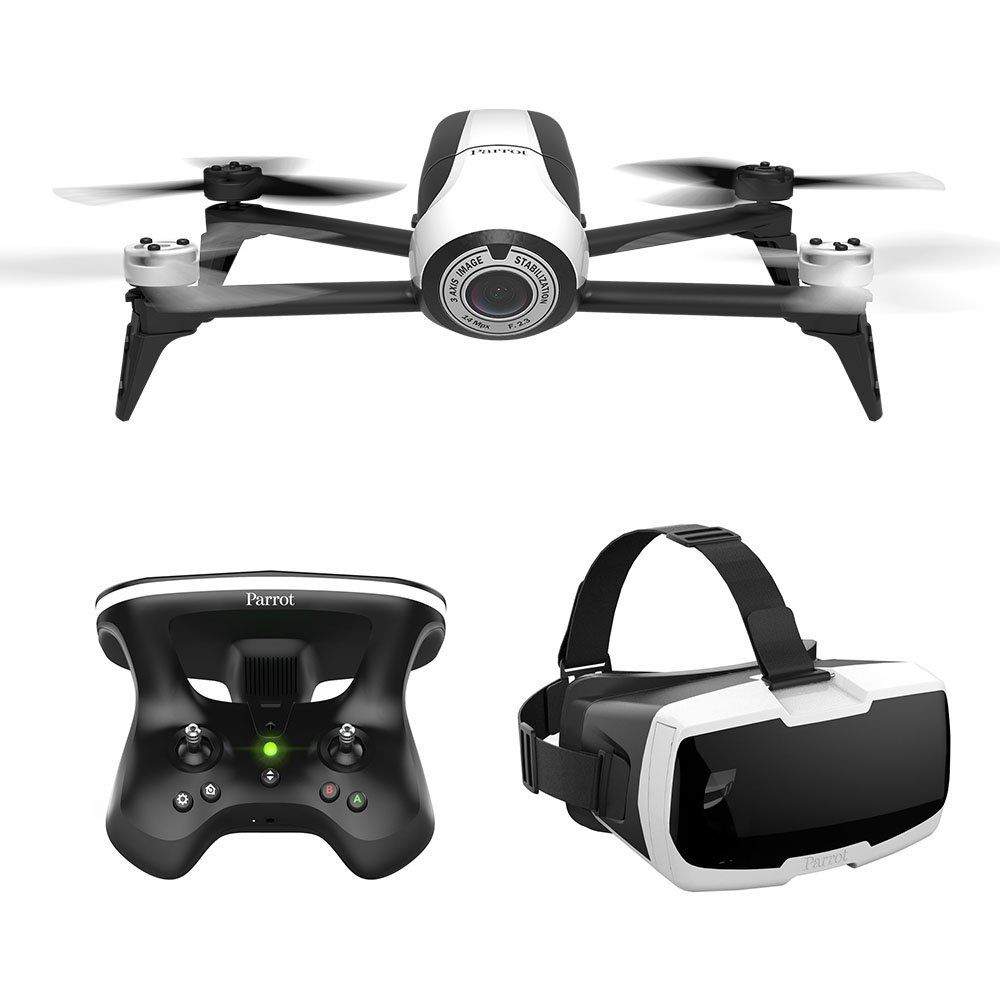 Parrot Bebop 2 FPV VR Headset Drone for Travel