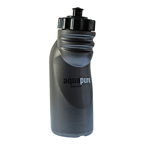 travel water purifier bottle by aquapure
