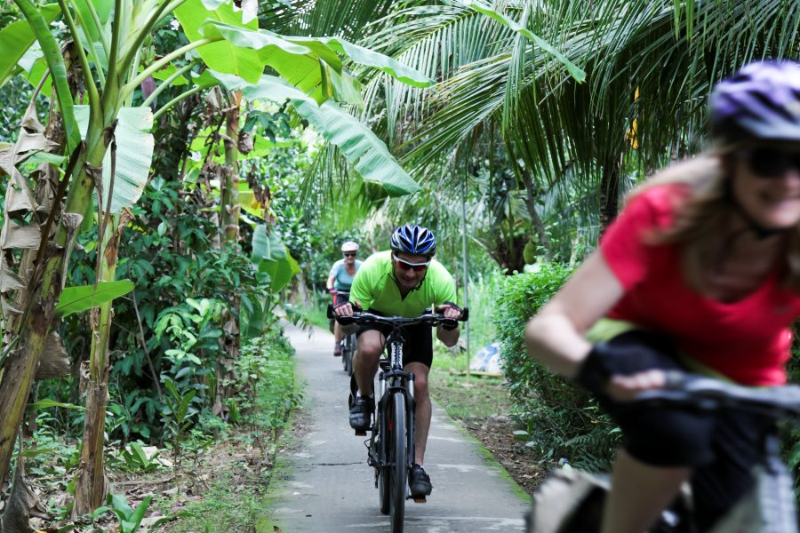 mekong delta cycling tour vietnam