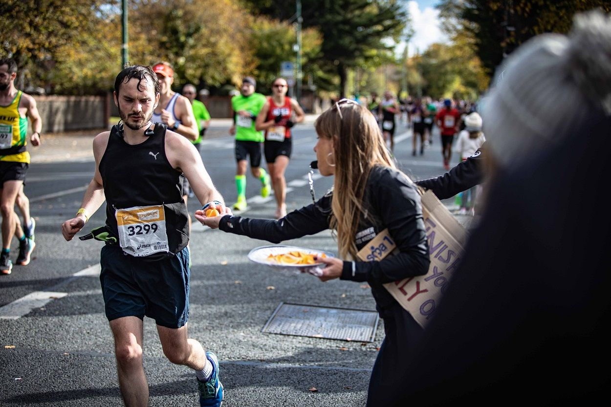 first time marathon tips - stay fuelled up