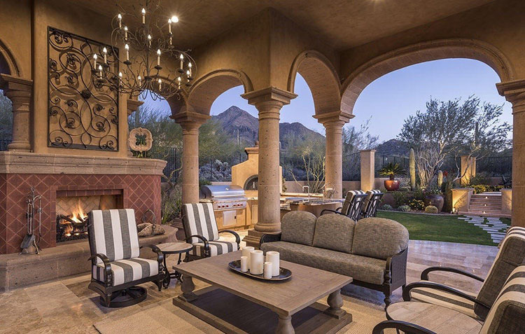 16 Inspiring Luxury Patio Ideas - Lifetime Luxury on Luxury Backyard Patios id=76676