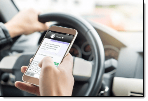 Minimize Distractions for Safer Driving