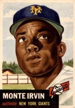 1953 Topps Monte Irvin