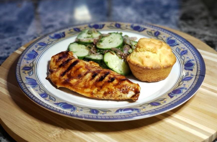 BBQ Chicken Recipe with Cornbread