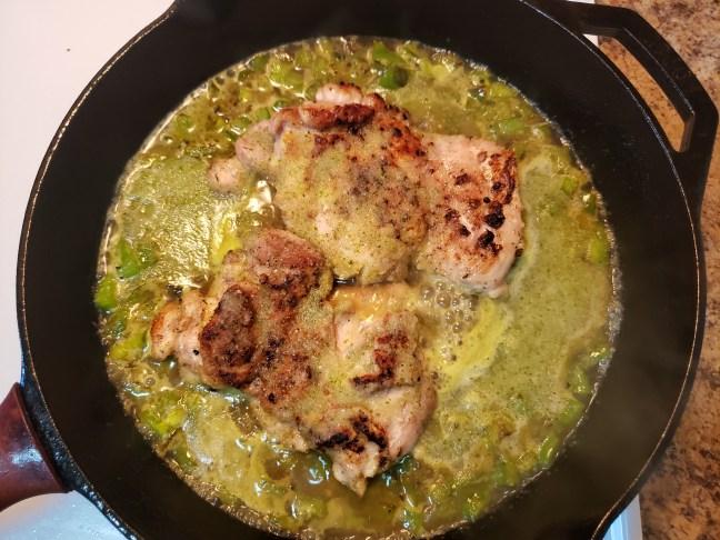 Cilantro Chicken and Rice 7