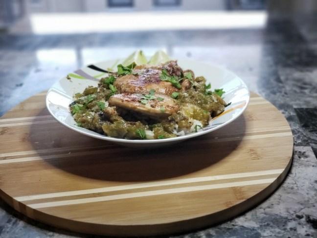 Cilantro Chicken and Rice 8