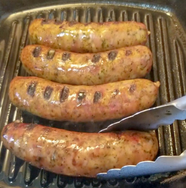 Spicy Andouille Sausages 91