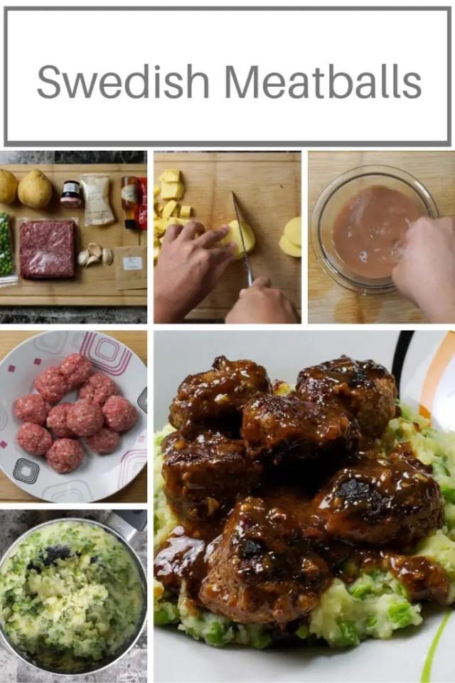 Sweet & Sour Swedish Meatballs 1