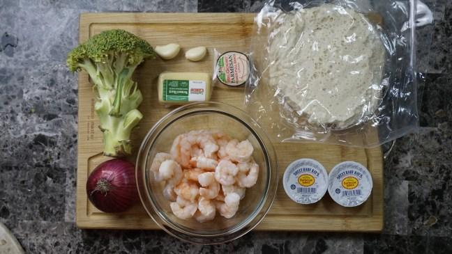 BBQ Shrimp Pizza 1