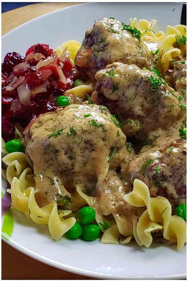 Creamy Swedish Meatballs 6