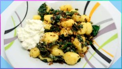 Gnocchi with Kale and Ricotta