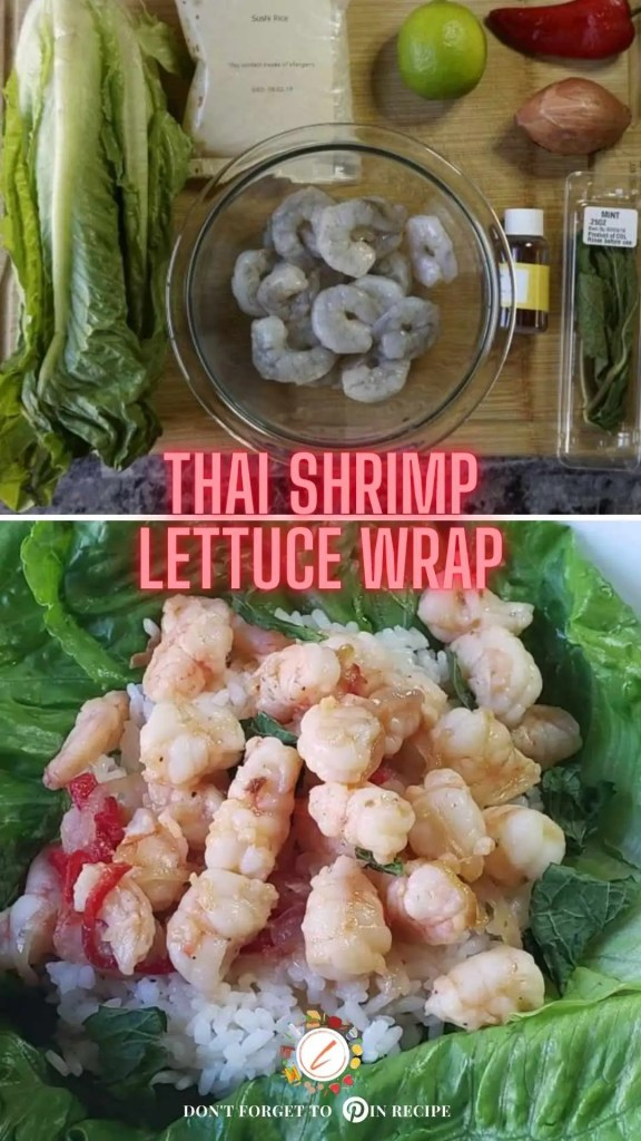 Thai Shrimp Lettuce Wrap999