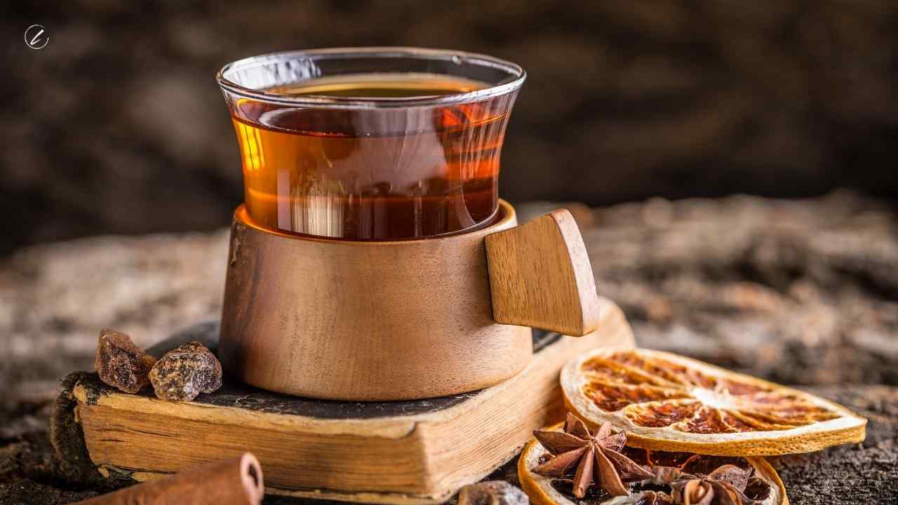 Ginger and Cloves White Tea with Cinnamon and Orange