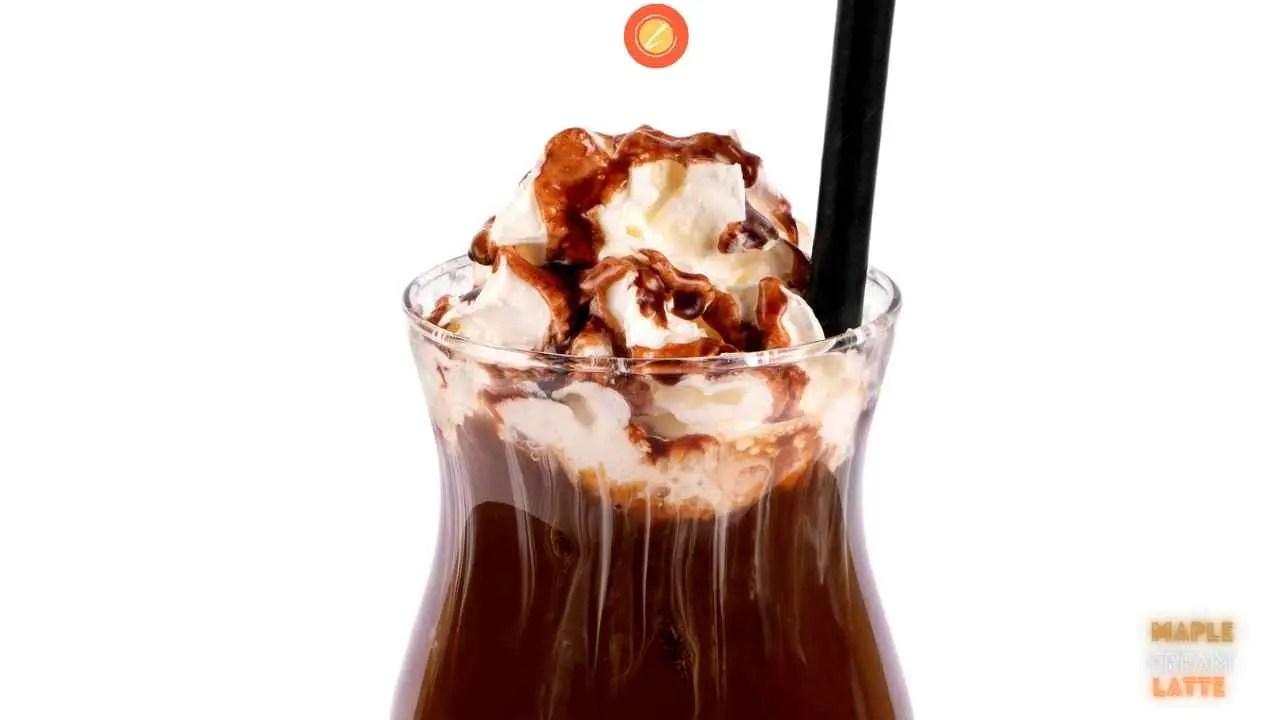 Maple Cream Latte