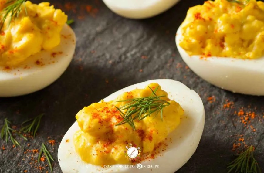 Cajun Deviled Eggs Recipe