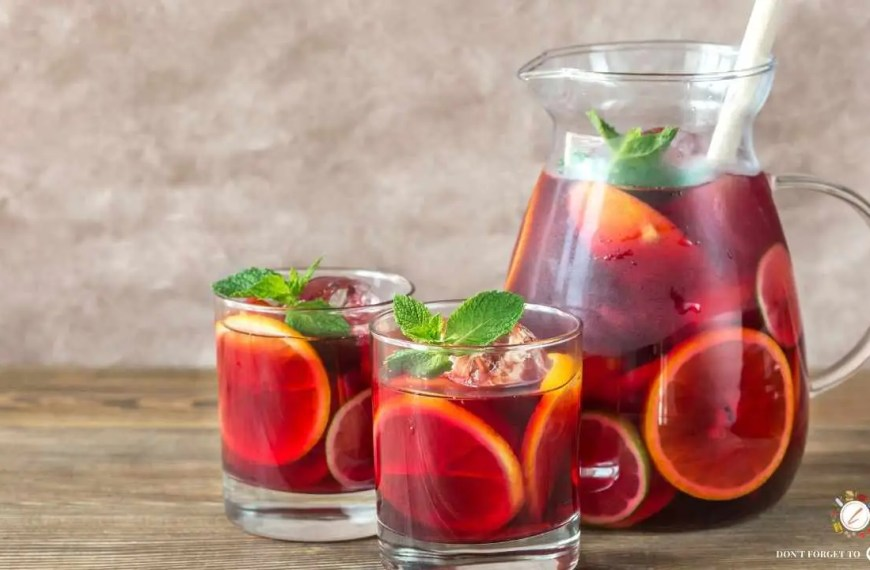 Game Day Delicious Sangria