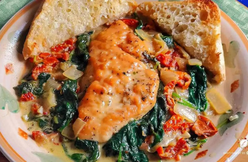 Creamy Tuscan Chicken with Sun-dried Tomatoes