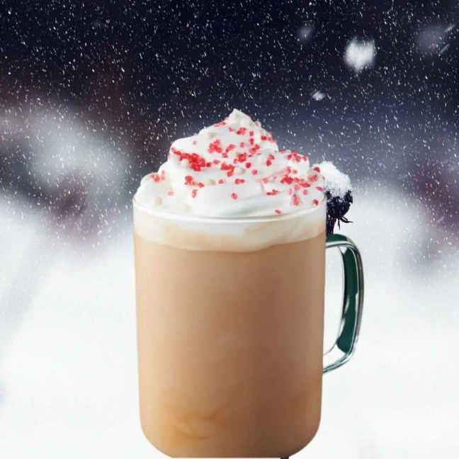 Toasted White Chocolate Mocha starbucks