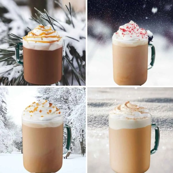 8 Copycat winter Starbuck Latte Recipes