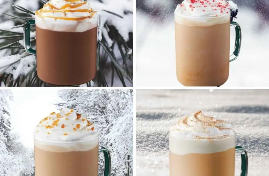 8 Copycat winter Starbuck Latte Recipes
