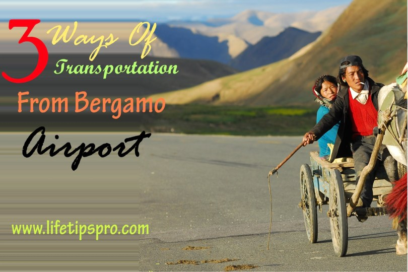transportation ways from bergamo airport to milan