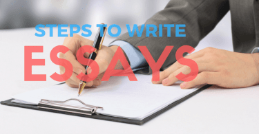 step to writing an essay easily