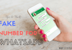 fake number for whatsapp. gmail and paytm