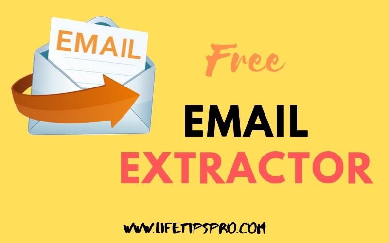 Email extractor for free from linkedin or any online sites