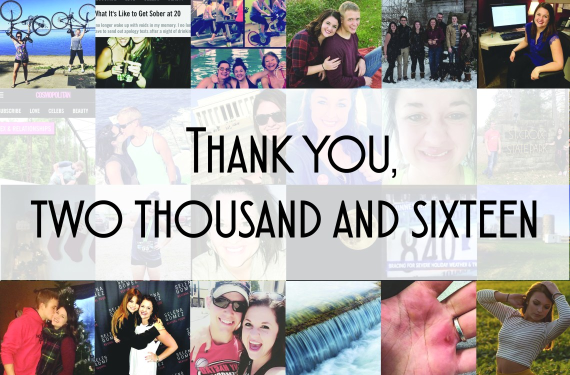 Thank you, two thousand and sixteen