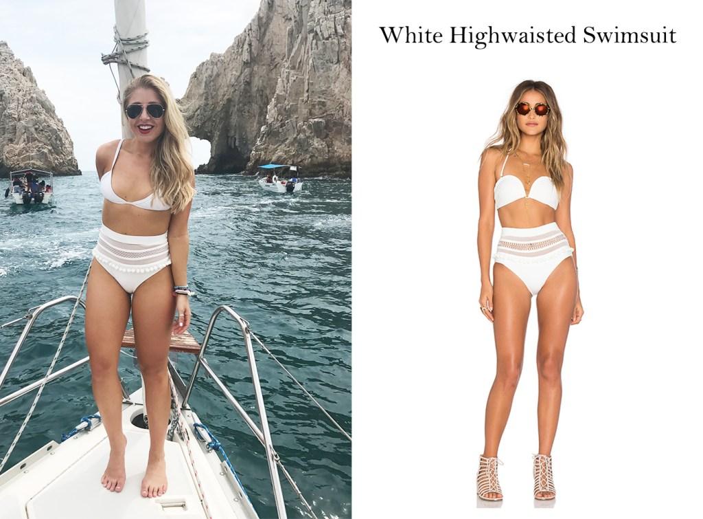 Tularosa White Bikini