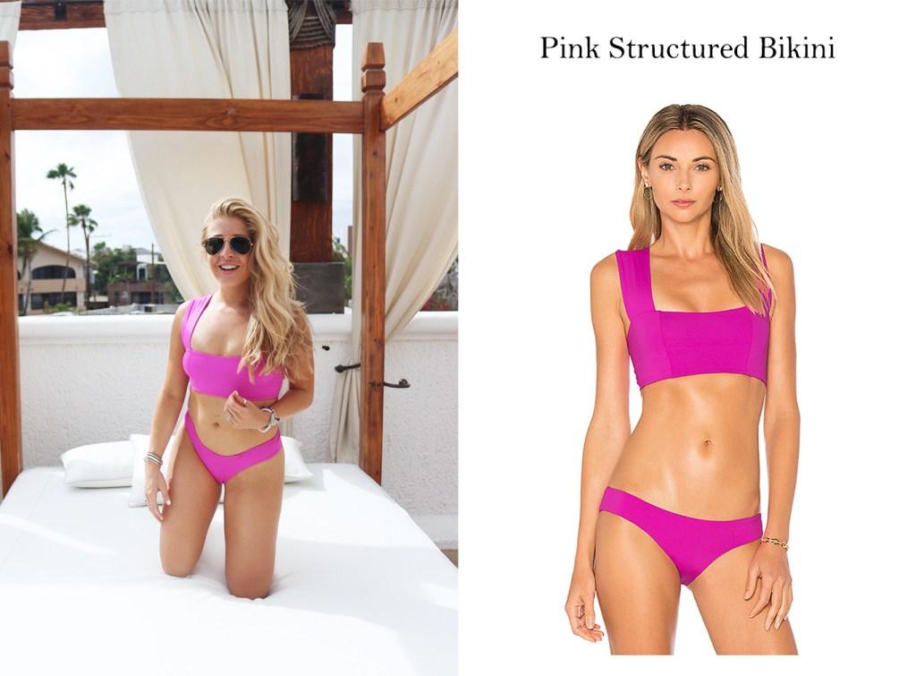 Pink L Space Bikini