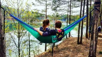 ENO hammock by the lake