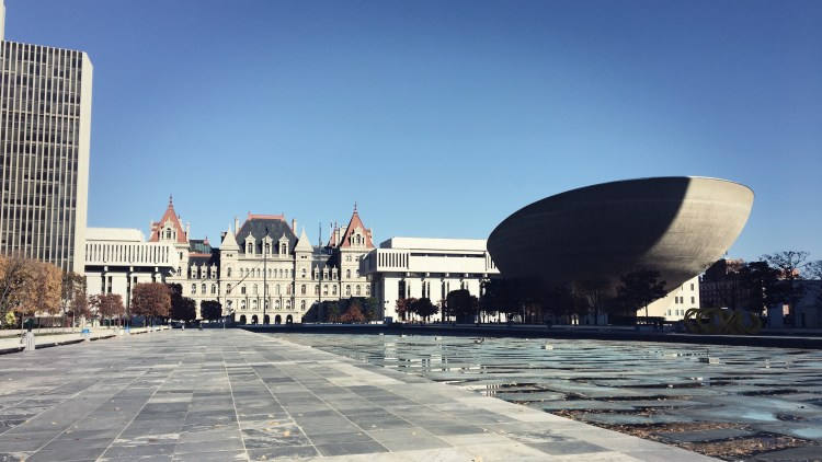 The Empire State Plaza and NY State Capitol