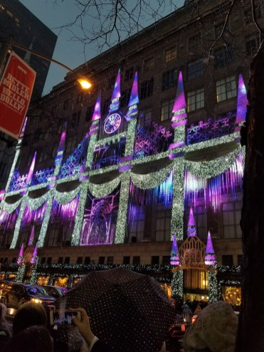 Saks 5th Avenue Holiday Lights Show