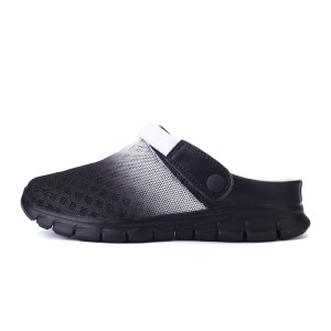 POLALI Big Size 36-46 Men Summer Shoes Sandals New Breathable Beach Flip Flops Slip On Mens Slippers Mesh Lighted Unisex Shoes
