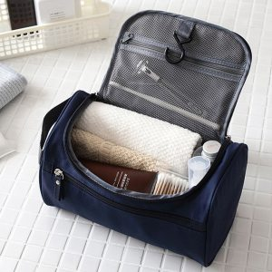 Cosmetic bag Cheap men Bags Men Large Waterproof Nylon Travel Cosmetic Bag Organizer Case Necessaries Wash Toiletry Bag-in