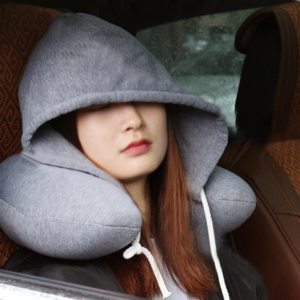 Inflatable Hooded Neck Pillow