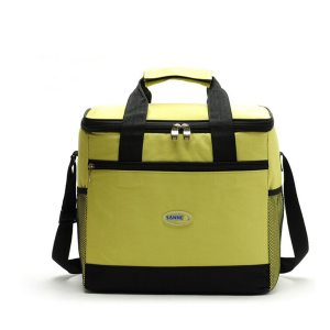 Waterproof Nylon Cooler Lunch Bag 16 L